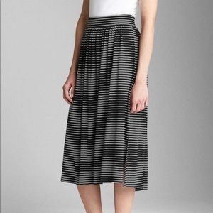Gap Shirred Midi Skirt NWT!